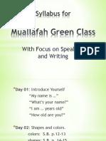 Green Syllabus