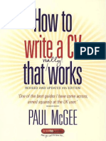 [Paul McGee] How to Write a Cv That Really Works(B-ok.cc)