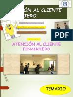 Atención Al Cliente Financiero