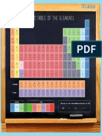 CHEMICAL SYSTEM PERIODIC
