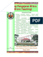 Konsep Dasar Micro-Teaching