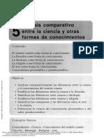 Galicia, Análisis comparativo entre la ciencia y otras formas de conocimientos, 2008