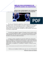 Protocolo Simples Para Experimento de Telepatia de Sonhos