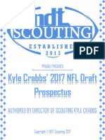 NDT Scouting 2017 NFL Draft Prospectus