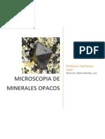 Microscopia de Minerales Opacos