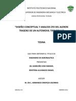 AERODINAMICA  Diseño conceptual alerón en un vehículo.pdf