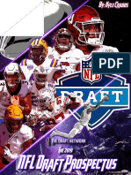 The Draft Network Presents - The 2019 NFL Draft Prospectus