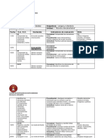Planificación de Clases Unidad 1 MUNDOS DESCABELLADOS