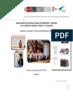 Sistematizacion Experiencias Sistemas Locales Frente a La Violencia Contra Las Mujeres