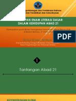 Paparan 6 Literasi Dasar-komplit-revisi