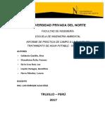 Informe de Práctica de Campo Pech