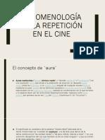Fenomenología de la repetición