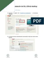 Manual de Instalación de Git y Github Desktop