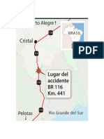 Lugar del accidente