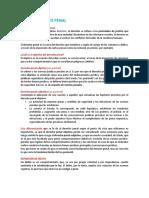 Tema i Derecho Penal