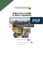 Manual para revisión de Costos y Presupuestos de Obras Viales.pdf