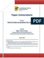 Paper de Edgar Vega Spondylus 166
