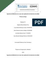 Proyecto Organización y Métodos - Entrega 1 - Subgrupo 31