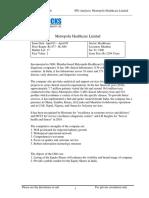 Metropolis Healthcare Limited Ipo
