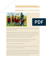 El Entrenador Multiusos Del Fútbol Base Modesto.