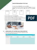 Buku Petunjuk Penggunaan Aplikasi E-File 2018