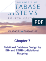 3.3 Mapping ER Model to Relational Schema