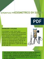 Ensayo Presiometrico y Dilatometrico