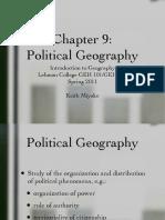 Ch9 Political Geography