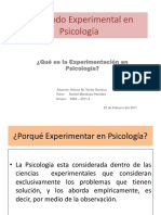 El Metodo Experimental