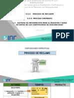 2. Proceso de Reclamo y Dirimencia
