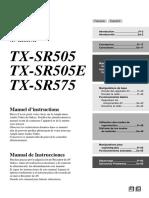 TX-SR505_FrEs.pdf