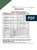 MSRTL Newsletter- Nov 2010