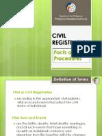 1 Civil Registration Procedure