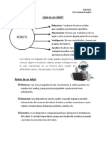 Ficha 1 - Introducción Robótica