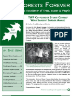 Trees, Water & People Fall 2010 Newsletter