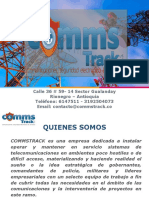 Portafolio de Servicios Commstrack New Version