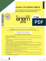 5 Simulado SAS 2018 - 1 dia.pdf