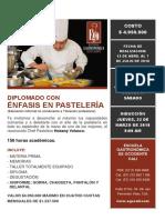Diplomado Con Enfasis en Pasteleria 2