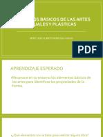 Elementos Básicos de Las Artes Visuales y Plásticas