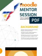 Moodle Mentors Session