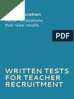 STIR_Written Test for Recuriting Teachers.pdf