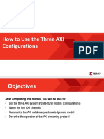 How to Use the Three AXI Configurations