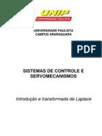 Sistemas de Controle e Servomecanismos