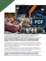 La UNE publica los requisitos para ser una industria 4.0