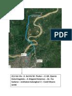 Peta Jalur Sepeda