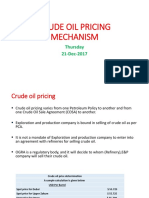 Presentation-Crude Oil Pricing Pakistan