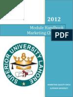 Superior University Module Handbook Marketing Channels
