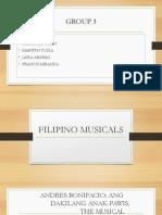 Filipino Musicals