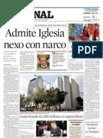 Admite Iglesia Nexo Con Narco