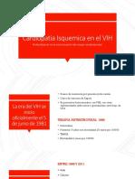 Cardiopatia isquemica en el VIH.pptx
